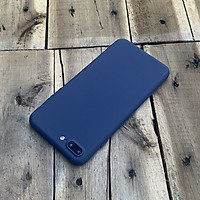 Ốp lưng dẻo mỏng dành cho iPhone 7 Plus / iPhone 8 Plus - Màu xanh dương đậm