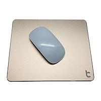 Miếng Lót Chuột Nhôm Lucas (Mouse pad) Aluminum 220x180mm - Hàng Chính Hãng
