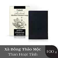 Xà Phòng Thảo Mộc Coboté - Than Hoạt Tính - Cấp ẩm & Làm sạch sâu - 100% Tự Nhiên