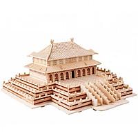 Mô hình 3D bằng gỗ The Harmony-Điện Thái Hòa