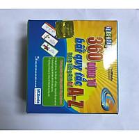Flashcard 360 Động Từ Bất Quy Tắc Trong Tiếng Anh Từ A - Z ( tặng kèm bút chì xinh xinh ) )
