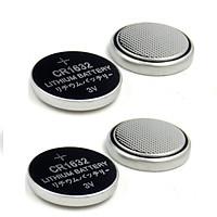 04 viên Pin remote cúc áo CR1632, Pin thay thế cho van cảm biến áp suất lốp tpms CR1632 - pin CR1632 Lithium 3V