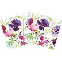 Combo 2 Xấp Khăn Giấy Ăn Trang Trí Bàn Tiệc Tissue Napkins Design Ti-Flair 367746 (33 x 33 cm) - 40 tờ