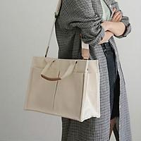 Túi xách nữ phong cách Hàn Quốc, túi vải đeo vai cá tính 2021