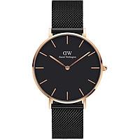 Đồng hồ DANIEL WELLINGTON PETITE ASHFIELD ROSE BLACK 36MM DW00100307