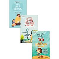 Combo Sách Thấu Hiểu Tâm Lí Trẻ Để Yêu Con Đúng Cách