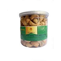 Hạt điều không vỏ lụa rang muối loại 1-  thương hiệu Natufoodvn ( Hộp 250g)- Đặc sản hạt điều Bình Phước
