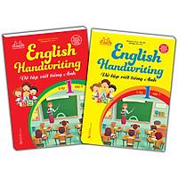 Combo 2 Cuốn: English Handwriting - Vở Tập Viết Tiếng Anh Lớp 1