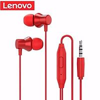 Tai nghe dây có mic Lenovo HF 130 jack 3.5mm Dùng Cho Máy Tính Điện Thoại