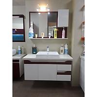 Tủ lavabo treo tường LBK208