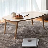 Bàn Trà Sofa B Table Nội Thất Kiểu Hàn - Gỗ Tự Nhiên (Size L)