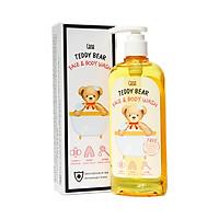 Sữa Tắm Dưỡng Da Và Tắm Toàn Thân Dịu Nhẹ Hữu Cơ Cho Bé Cana Teddy Bear Organic 200g