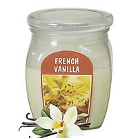 Hũ nến thơm tinh dầu Bolsius French Vanilla 305g QT024364 - hương hoa vani