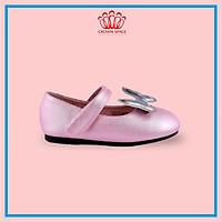 Giày Búp Bê Bé Gái Đi Học Đi Chơi Crown Space UK Ballerina Trẻ Em Cao Cấp CRUK3116 Nhẹ Êm Thoáng Size 30-36/6-14 Tuổi