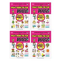 Combo 1088 Câu Đố Phát Triển Trí Tuệ 3-4 Tuổi (Bộ 4Q)