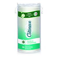 Bông tẩy trang HỮU CƠ MAXI 2 trong 1 COTONEVE - COTONEVE  (Chiết xuất Aloe vera và Vitamin B5)