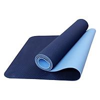 Thảm Tập Yoga Eco Friendly TPE - Xanh Dương Đậm...