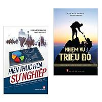 Combo Sách Kỹ Năng Làm Việc Đạt Hiệu Qủa Vượt Trội: Hiện Thực Hóa Sự Nghiệp + Nhiệm Vụ Triệu Đô (Bộ Sách Kinh Tế Được Khuyên Đọc Nhiều Nhất)