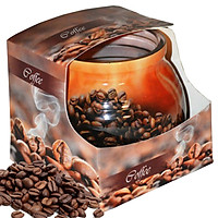 Ly nến thơm tinh dầu Admit Coffee 85g QT04543 - hương cà phê