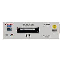 Mực in Canon 316Y YELLOW Toner Cartridge dùng cho máy LBP5050 / LBP5050N - Hàng Chính Hãng
