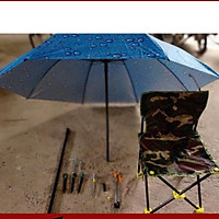 Bộ combo ghế ,chống cần,ô câu cá(dù 1m8)