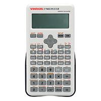 Máy Tính Học Sinh Vinacal 570ES Plus II -Xám Trắng - Hàng Chính Hãng