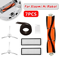 For Xiaomi Mi Robot Vacuum Cleaner Parts  Filter Brush Wall Cover