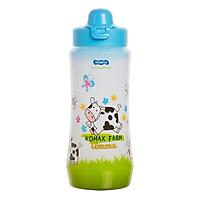 Bình Nước Nhựa Rỗng Komax 450ml - Xanh - 20401