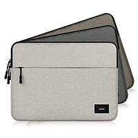 Túi chống sốc cho macbook, laptop 13 inch thương hiệu Anki - Xám Trắng