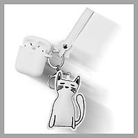 Bao case Hình Thú Cưng Cute Leeu Design cho Airpods 1/ Airpods 2_Hàng Nhập Khẩu