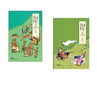 Combo 2 cuốn sách: Sử Ký III - Thế Gia + Sử ký - II Liệt truyện thượng