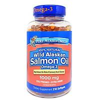 Thực phẩm bổ sung Dầu Cá hồi Pure Alaska Omega-3 Wild Salmon Oil 1000mg của Mỹ