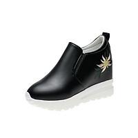 Giày slip on độn 7p da cao cấp siêu mềm siêu nhẹ SLO849202