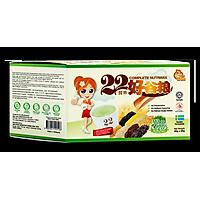 Bột ngũ cốc dinh dưỡng 22 Complete Nutrimix - Wheat Grass (Mầm lúa mì) 625g/hộp