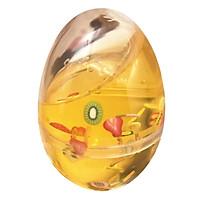 Multi-Color Fruit  DIY Crystal Mud Slime Anti-Stress Toys 4*4*6CM Egg Shell Shape Fun Toys 6 Styles j2