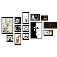 Bộ 13 Khung ảnh  Composite Treo Tường Quán Cafe độc đáo KA1306 Miễn phí phụ kiện.