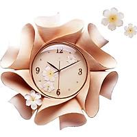 Đồng hồ phù điêu treo tường