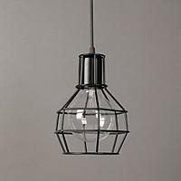 Đèn thả trang trí khung rọ sắt sơn tĩnh điện - kèm bóng LED chuyên dụng