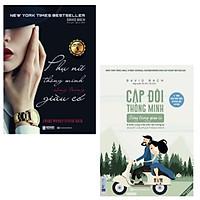 Bộ sách - Cặp Đôi Thông Minh Sống Trong Giàu Có - 9 Bước Cùng Nhau Kiến Tạo Tương Lai + Phụ Nữ Thông Minh Sống Trong Giàu Có