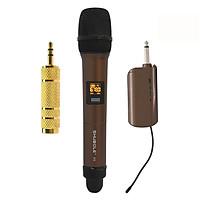 Micro Không Dây Karaoke Shubole K5 + 1 Jack Chuyển Đổi 6. Qua 3 - Hàng chính hãng