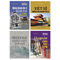 Combo Kể chuyện lịch sử Việt Nam (Bộ 4 cuốn)