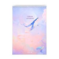 Sổ Lò Xo Fantasy Dream Morning Glory 83157 - Mẫu 1 - Màu Hồng
