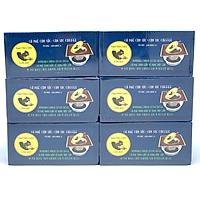 Cà phê con sóc phin lọc giấy hộp xanh( combo 6 hộp)