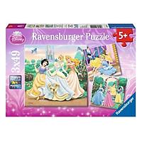 Xếp Hình Puzzle Princess Dreams Ravensburger 09411 0 (3 x 49 Mảnh)