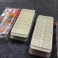 Combo 2 khay đựng đồ ăn dặm 8 ngăn và 12 ngăn Kokubo nhập khẩu từ Nhật Bản