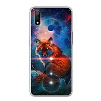 Ốp điện thoại Realme 3 Pro - 0005 FOX04 - Silicon dẻo - Hàng Chính Hãng
