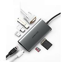 Cáp chuyển đa năng USB Type-C (6 in 1) Ugreen 50539 - Hàng chính hãng