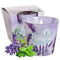 Ly nến thơm tinh dầu Bartek Lavender 115g QT5351 - oải hương, bạc hà (giao mẫu ngẫu nhiên)
