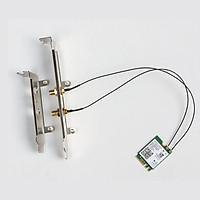 Bộ card WIFI Bluetooth Intel AC-8260 5Ghz tốc độ 867M và Bluetooth 4.2 cho máy bàn