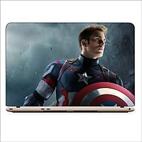 Miếng Dán Skin In Decal Dành Cho Laptop - Captain America 1